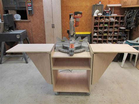 chop saw bench designs table saw stand plans mobile brokeasshome com