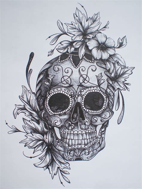 flower sugar skull tattoo designs justin s ads show animals that are on the brink of
