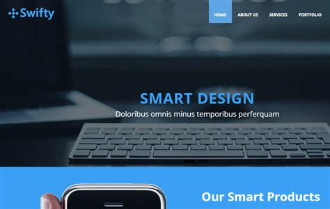 business html5 website template free download