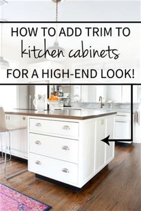 how to add molding to kitchen cabinets kitchen on pinterest subway tiles open shelving and