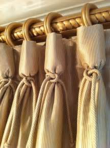 Ballard Design Tables curtain detail goblet pleat window dressings pinterest