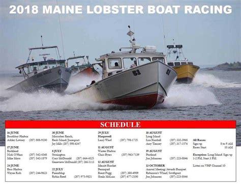 lobster boat docking stonington lobster boat races 2018