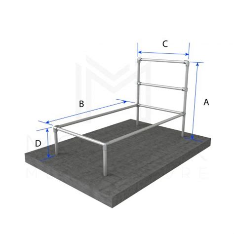 Basic Metal Bed Frame Diy Modular Bed Frame Kits Modular Metal Store