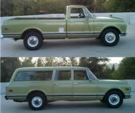 matched set 1971 chevy suburban 1972 bring a