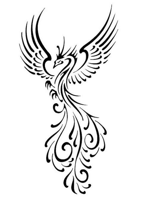tattoo phoenix tribal tribal bird tattoos busbones