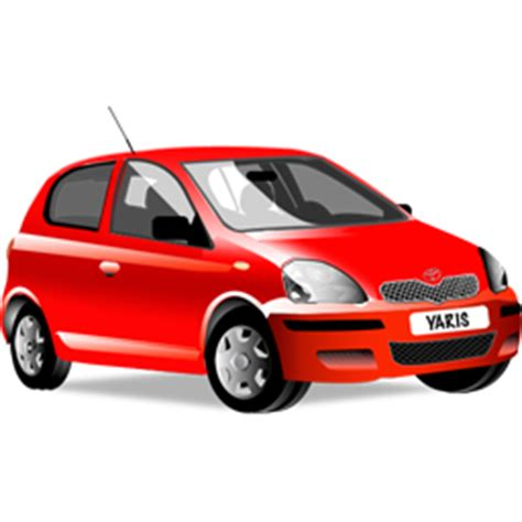 i love yaris car icon png icon