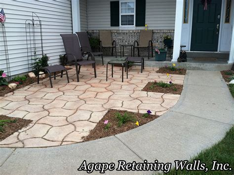 Front Yard Patio Design by Agape Paver Pictures 6