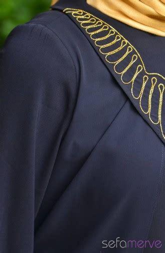 Mazaya Blus Abaya Model 21 Zt10167 sukran abaya new season 35538 01 navy blue