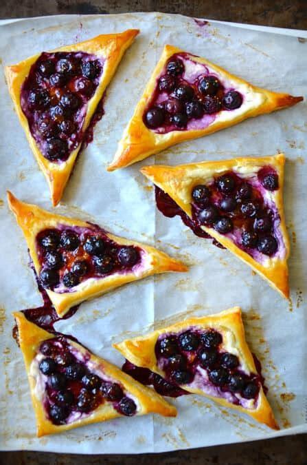 taste blueberry cream cheese pastries