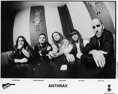 Kaos Exodus Band Metal Ex 08 roadie metal cronologia anthrax sound of white noise