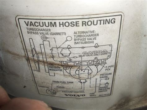 mystery vacuum hose    turbo volvo forums volvo enthusiasts forum