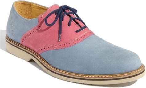 light pink oxford shoes 1901 saddle up oxford in blue for light blue pink