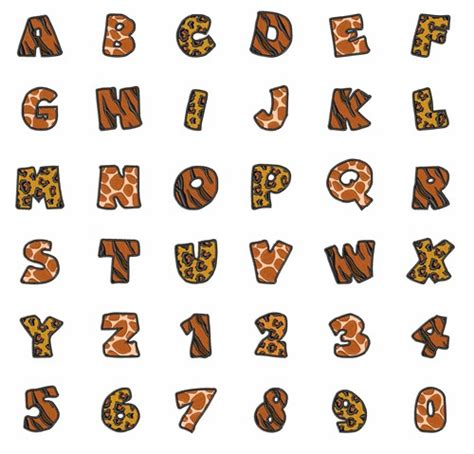 printable animal fonts 14 animal letters font images animal letters alphabet