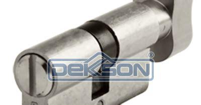 Dekkson Cylinder Cyl Bk Dl60mm Sn kunci dekkson katalog kunci dekkson cylinder