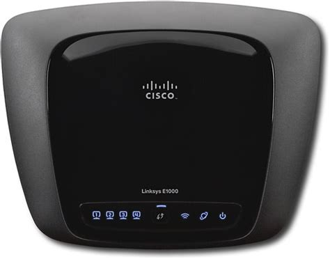 Router Cisco E1000 cisco linksys e1000 wireless n router e1000 best buy