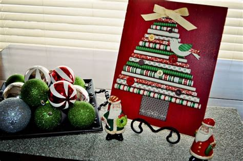 rolled paper tree decoration think crafts by createforless