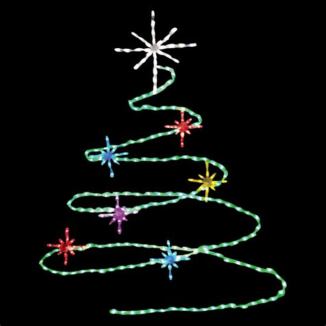 72 in led spiral tree lighted display 248 bulbs