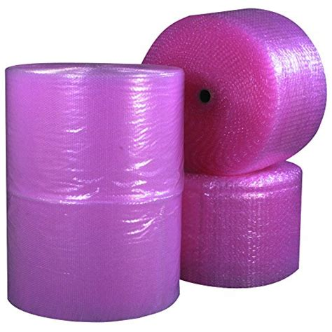 Fortuner Anti Air Pink aviditi bw316s12asp perforated anti static air rolls 3 16 quot x 12 quot x 750 pack of 4