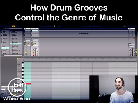 drum groove tutorial how drum grooves control the genre of music by josh bess