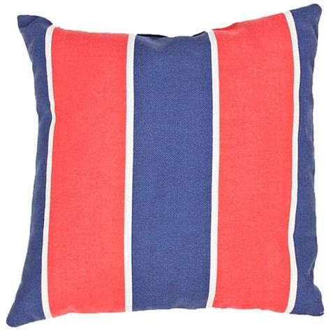surya cora blue white 18 quot square indoor outdoor pillow