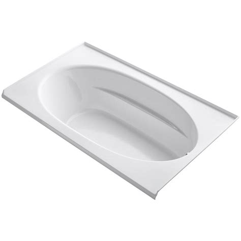 tile flange for bathtub kohler windward 6 ft left hand drain with tile flange