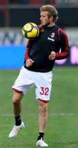 Beckham Snaps Up Seconds by David Beckham Makes His Second Ac Milan Debut In 5 2