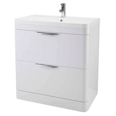 800 Vanity Unit by Premier Parade Floor Standing 600mm Vanity Unit And Basin