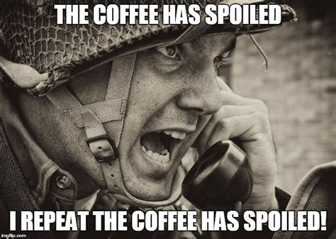 Soldier Meme - ww2 us soldier yelling radio imgflip