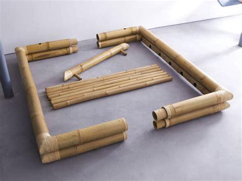 lit futon lit futon en bambou 160x200 balyss