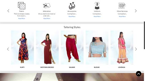 Handmade Clothing Websites - custom tailoring ecommerce script custom tailoring