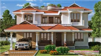 beautiful home beautiful home exterior in 2446 square feet kerala home design and floor plans