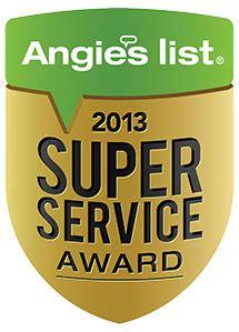 Angies List Plumbing by Legacy Plumbing Inc Earns Esteemed 2013 Angie S List