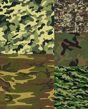 camouflage pattern cdr army camouflage vector art free vector download 214 136
