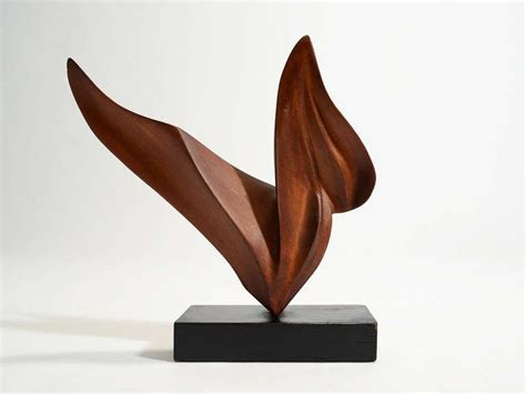 Century Plywood Abstract Wood Sculptures By Thomas B Lewis At 1stdibs