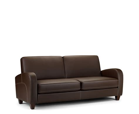 Faux Leather Sectionals by Vivo 3 Seater Faux Leather Sofa