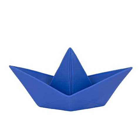 origami little boat le bateau origami bleu little marmaille