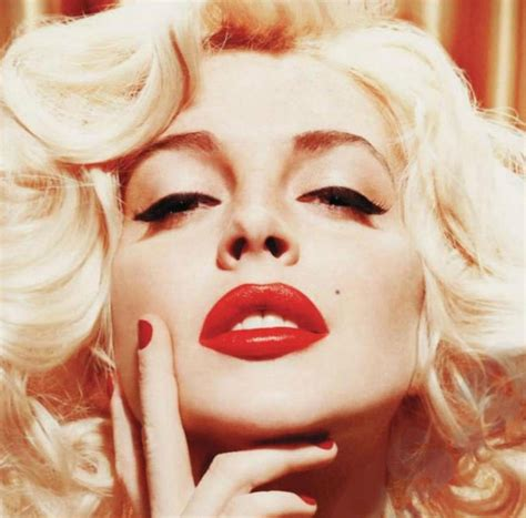 Lindsay Lohan As Marilyn Five Outtakes by Flash Lindsay Lohan Channels Marilyn