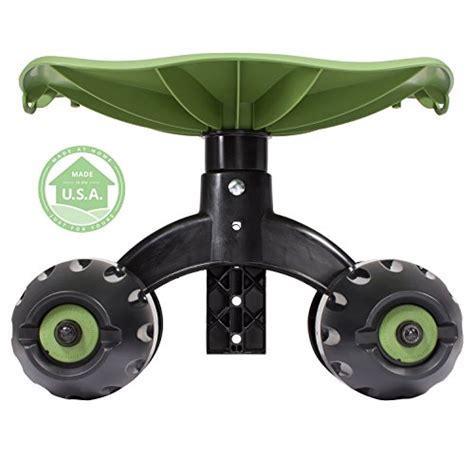 Rolling Greens Garden Stool by Garden Rocker Rolling Comfort Seat By Vertex 174 With