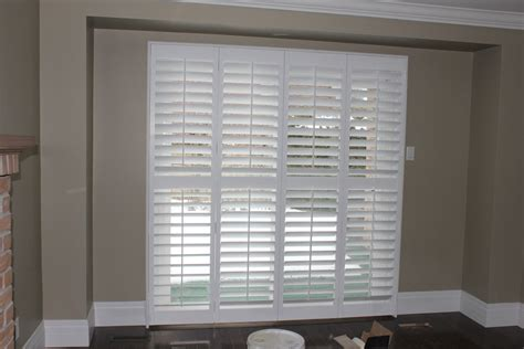Patio Door Shutters Patio Door Pc Shutters In Canada