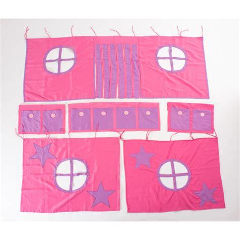 walmart girls bed girls loft bed curtains component walmart com