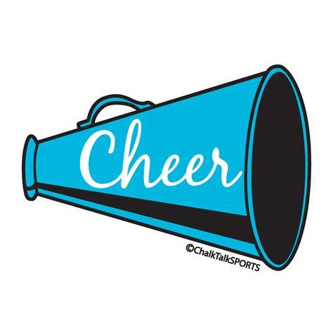 cheerleading clipart cheerleading megaphones clip cliparts co