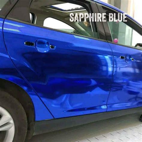 Folie Na Auto Modra by Chrom Folie