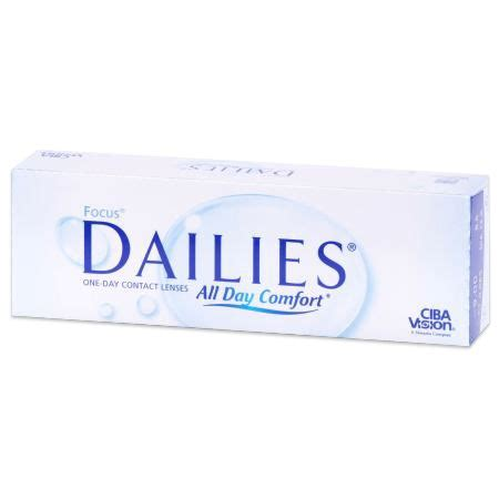 focus dailies 30 pack contact lenses by alcon walmart