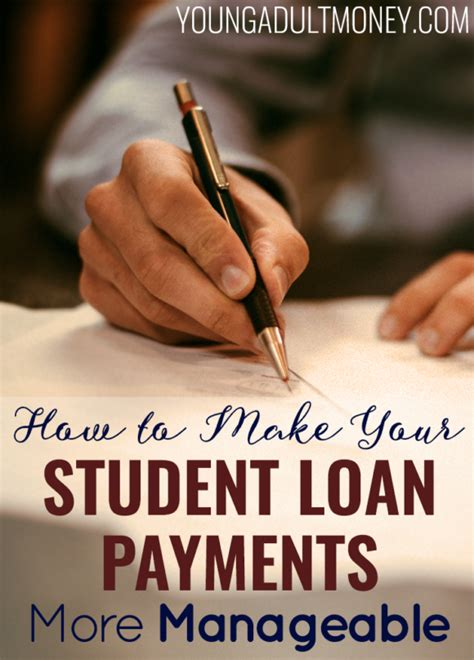 can you make a loan payment with a credit card how to make student loans more manageable money