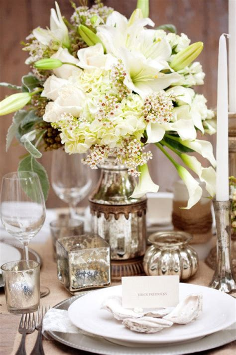 17 Best Images About Inspiration Mercury Glass On Glass Wedding Centerpieces