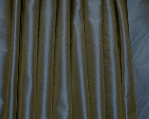 blue silk drapes blue silk taffeta drapes curtains shades custom made