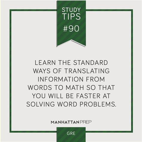 Gre Scores For Stanford Mba by Gmat Gre Studytips Manhattanprep Study Tips
