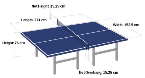 Meja Pimpong pingpong dimension images frompo 1