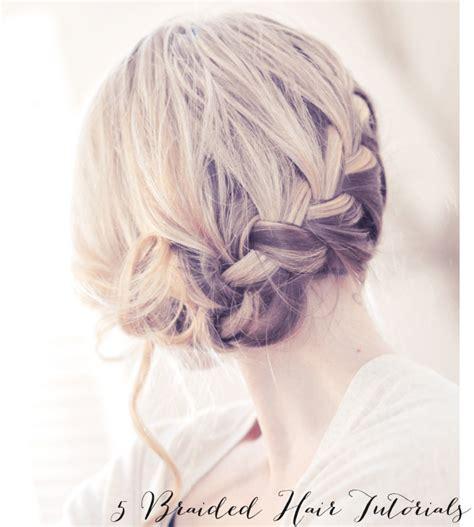 diy hairstyles with braids 5 diy braided hairstyles glitter inc glitter inc