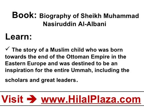 biography of sheikh muhammad nasiruddin albani biography of sheikh muhammad nasiruddin al albani